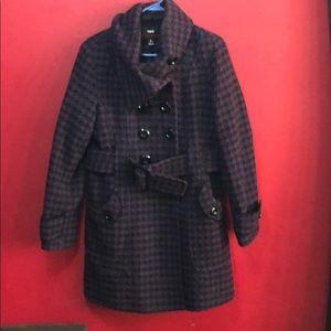 M60 Miss Sixty Size Large Coat Wool blend